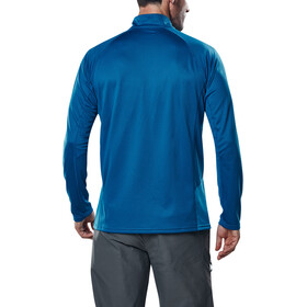 Berghaus Tech 2.0 Tee LS Zip Baselayer Men Adriatic/Snorkel Blue